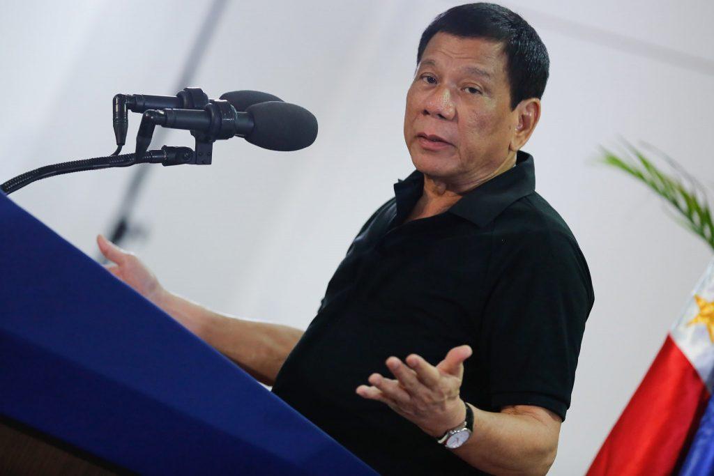 El hijo de Duterte se presenta como candidato a congresista en Filipinas
