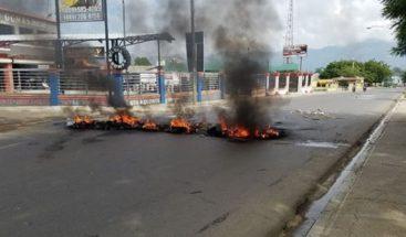 Dos heridos en protestas en el municipio de Esperanza luego de desalojos