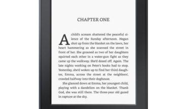 Amazon adelgaza Kindle Paperwhite y lo hace resistente al agua