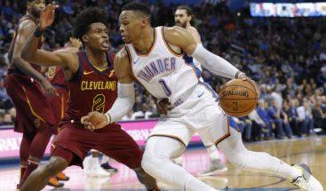 Westbrook aporta triple-doble en victoria de los Thunder