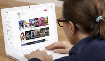 YouTube ofrece más de 100 películas de buena calidad gratis