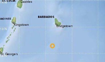Terremoto de magnitud 6,3 sacude la costa de Barbados
