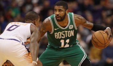 Irving, con 39 puntos, lidera remontada de 22 tantos de Celtics