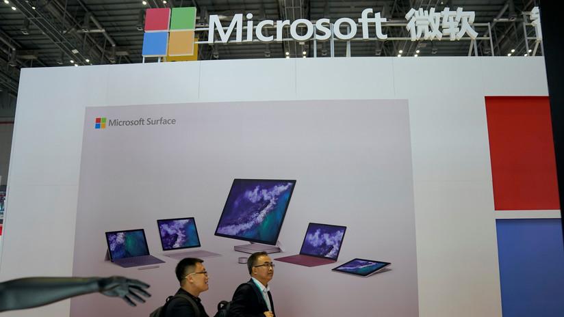 Microsoft supera el valor bursátil de Apple por 3.000MM de dólares