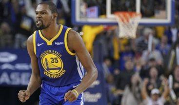 Durant pone la magia encestadora con 49 puntos y ganan los Warriors