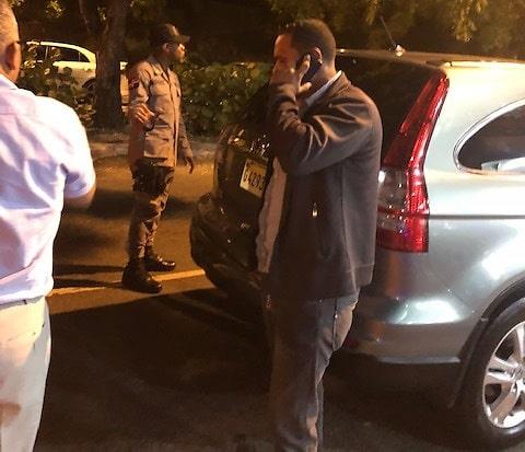 Director PN recibe profesionales tiroteados por patrulla
