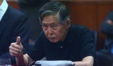Formalizan denuncia penal contra Fujimori por esterilizaciones forzadas