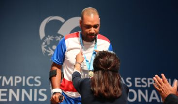Primera medalla de Oro para RD en Mundial de Tenis Olimpiadas Especiales