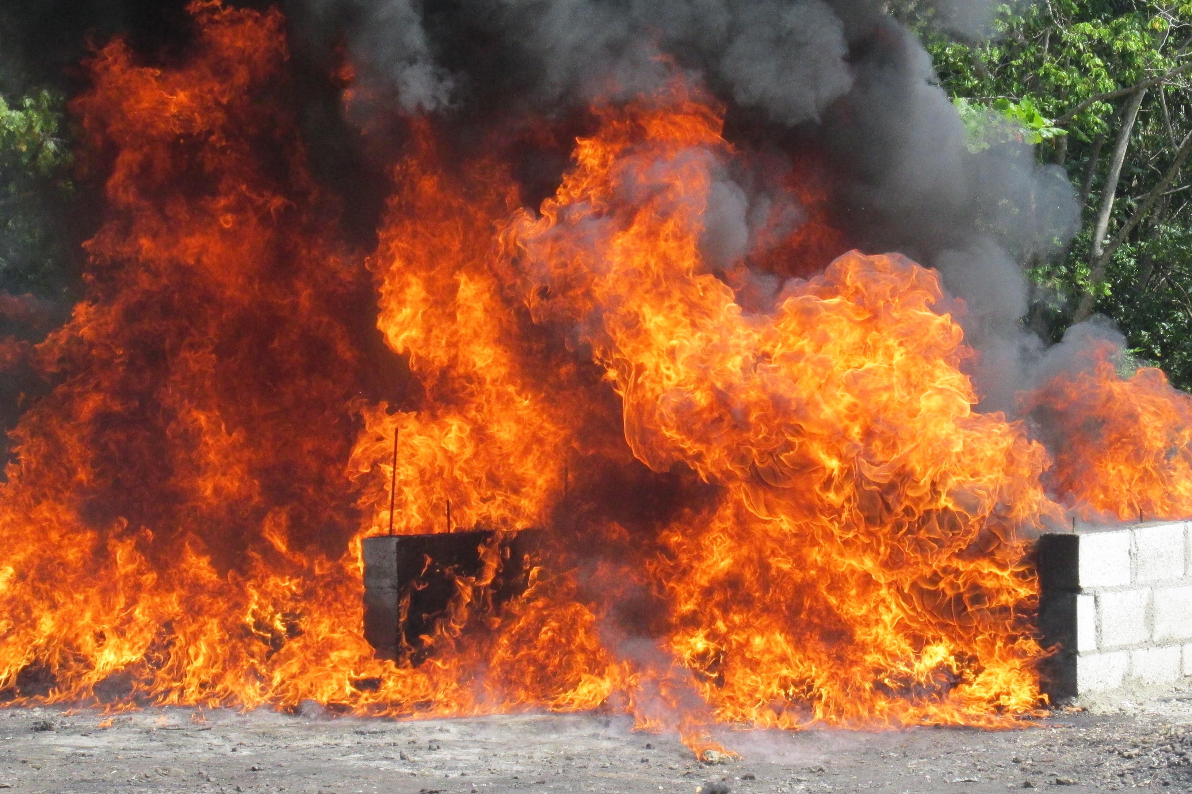 Procuraduría incinera más de una tonelada de distintas drogas