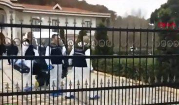 Registran una villa en Turquía en busca de los restos de Jamal Khashoggi