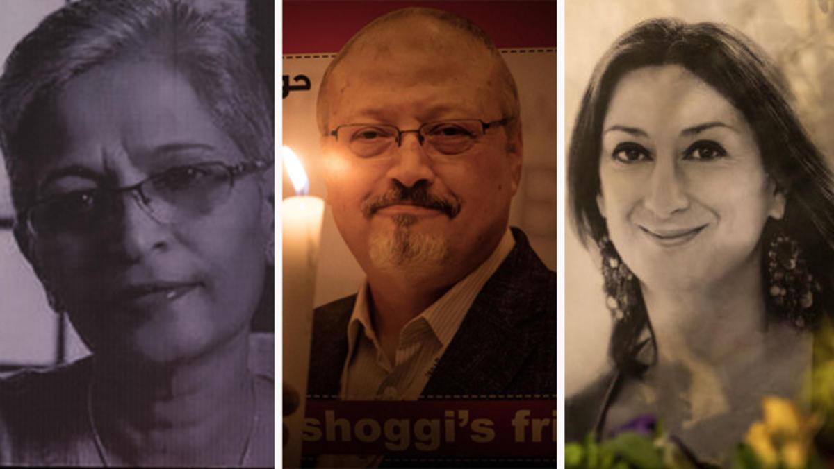 Asesinatos de periodistas en represalia por su trabajo se doblan en 2018