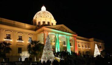 Celebrarán espectáculo pirotécnico en los jardines del Palacio Nacional