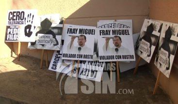 Aplazan audiencia preliminar contra el Fray Miguel por violación