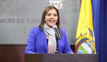 Vicepresidenta de Ecuador es separada del cargo por corrupción