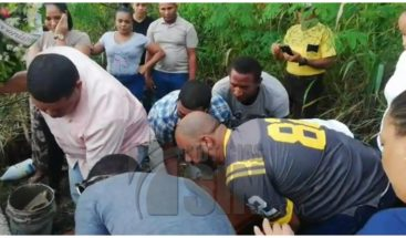 Sepultanrestos de una de las víctimas en explosión Polyplas