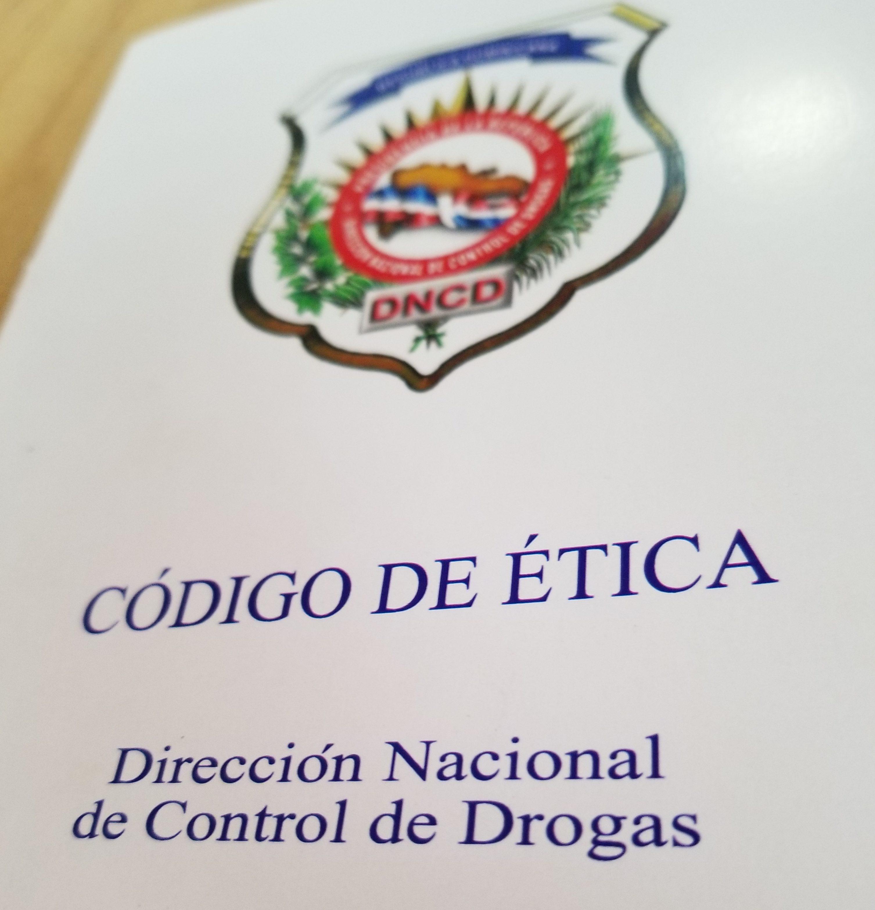 DNCD pone en vigencia Código de Ética Institucional