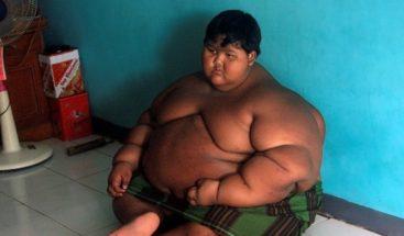 El niño más obeso del mundo adelgaza y ahora quiere ser futbolista