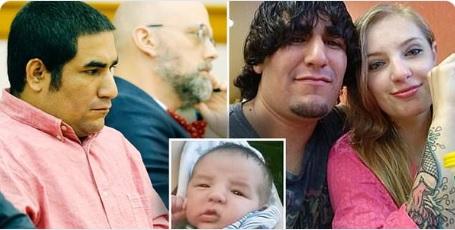 Cadena perpetua a padre que dejó morir a su bebé infestado con gusanos