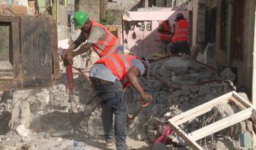 Continúa proceso de reparación viviendas afectadas en Villas Agrícolas