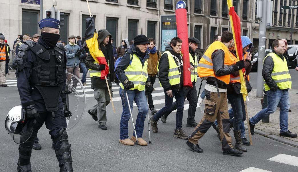 Detenidas 60 personas en manifestación de
