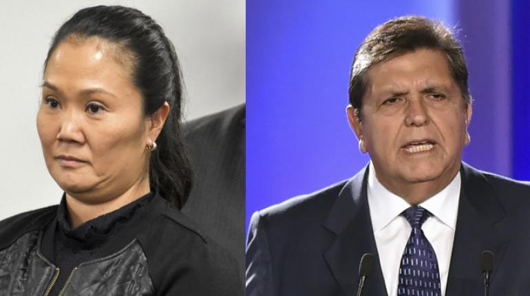 Fiscal indaga a Keiko Fujimori y Alan García pide medida cautelar a CIDH