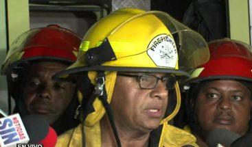 Bomberos DN dice hubo mala práctica en explosión de Villas Agrícolas