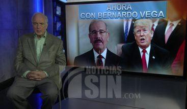 Vega: Contraste entre forma de gobernar de Danilo Medina y Donald Trump