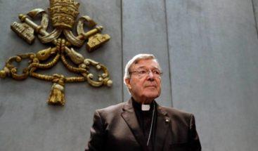 Cardenal Pell culpable de abusos sexuales a dos menores