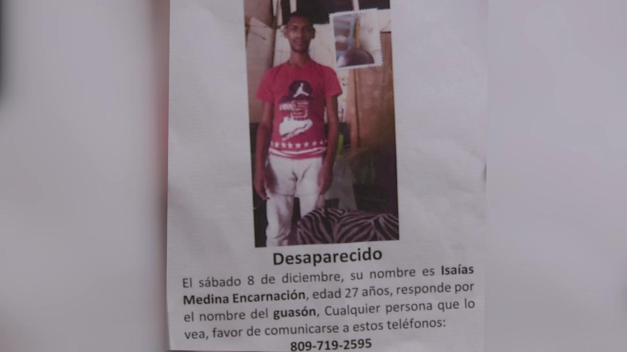 Está desaparecido un joven desde el sábado 8 de diciembre