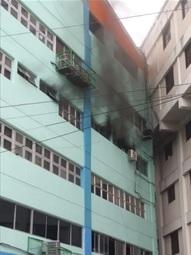 Fuego en Digesett afectó Departamento de Informática