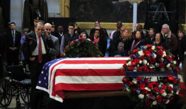 Washington se despide de George Bush con un emotivo funeral de Estado