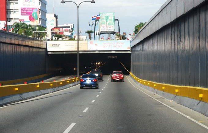 MOPC cerrará túneles y elevados por mantenimiento