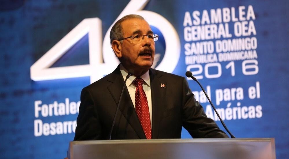 República Dominicana votará hoy en la OEA sobre situación en Venezuela