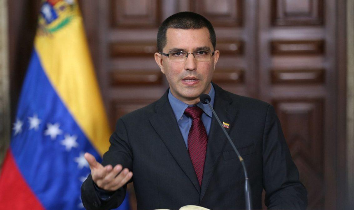 Jorge Arreaza denuncia