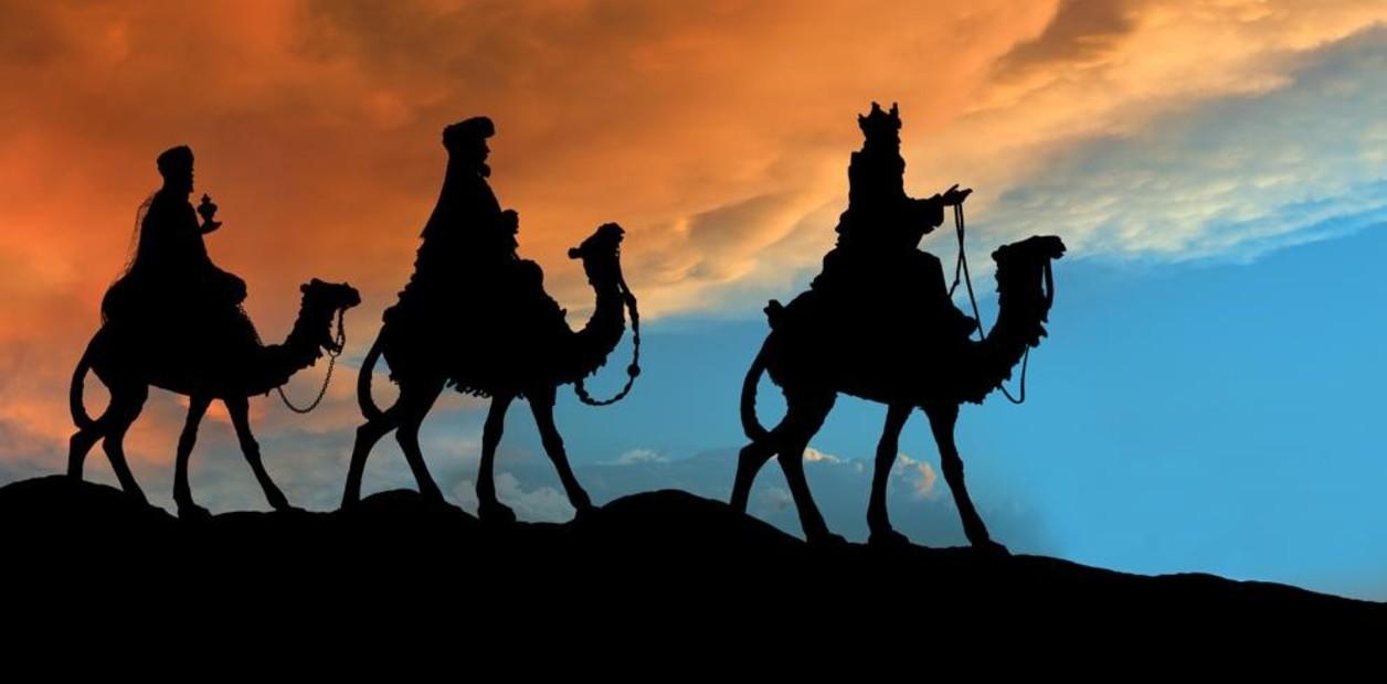 Los Reyes Magos hacen breve parada en Belén en su viaje a la noche del 5