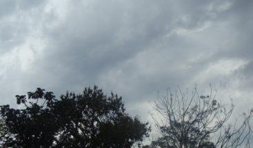 Onamet pronostica cielo nuboso y chubascos dispersos en algunas regiones