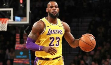James se perderá otros dos partidos más con los Lakers
