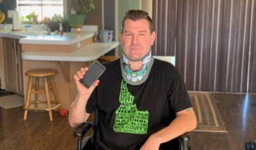 Se salva gracias a Siri tras sufrir un grave accidente automovilístico
