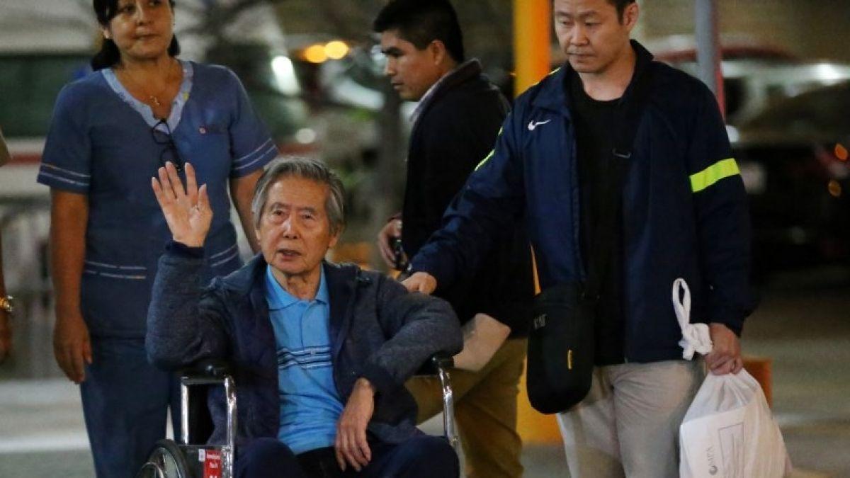 Fujimori es dado de alta y será conducido a prisión