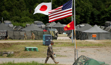 Japón compra isla a EE.UU. para que realice ejercicios militares