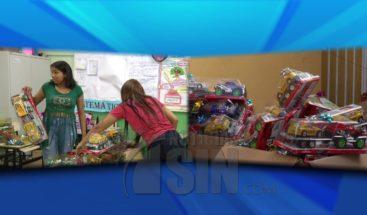Entregan juguetes a niños de familias afectadas por explosión Polyplas
