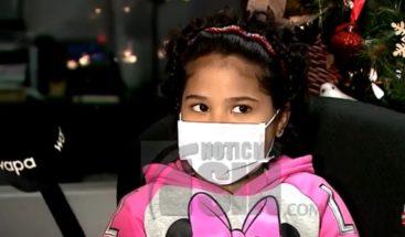 Niña de 10 años libra una batalla contra el cáncer