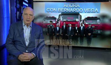 Bernardo Vega: ¿Qué hacen los chinos donando camiones de bombero al 911?