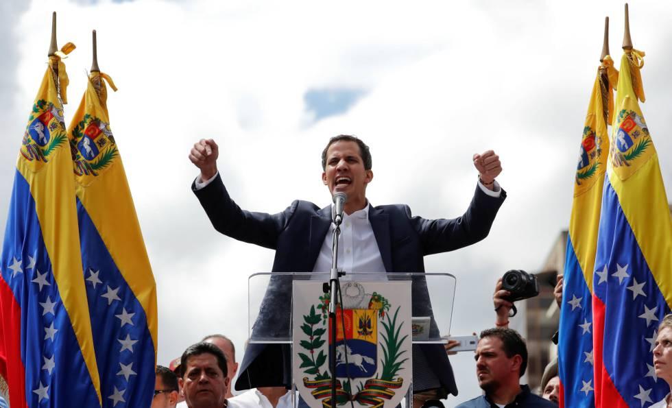 Guaidó agradece a España, Francia y Alemania por postura sobre Venezuela