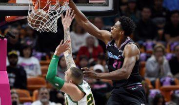 Wade lidera ataque ganador de Heat, que corta racha triunfal a Celtics