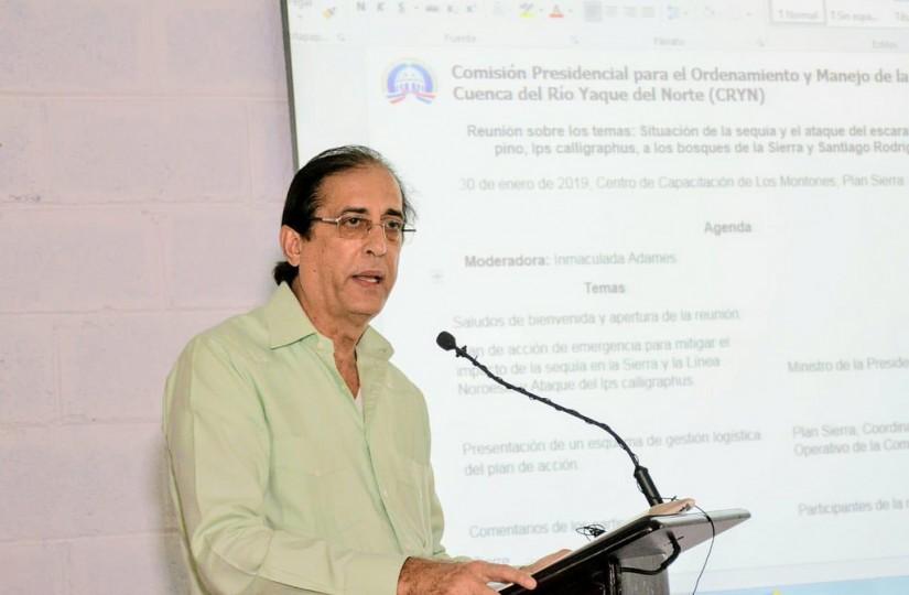 Gustavo Montalvo presenta plan de acción para combatir sequía y plaga