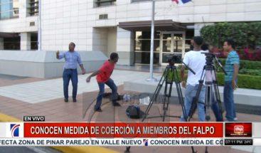 Conocen medidas de coerción a miembros del Falpo lanzaron excremento a SCJ