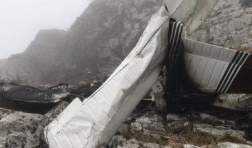 Al menos un fallecido al estrellarse una avioneta al norte de España