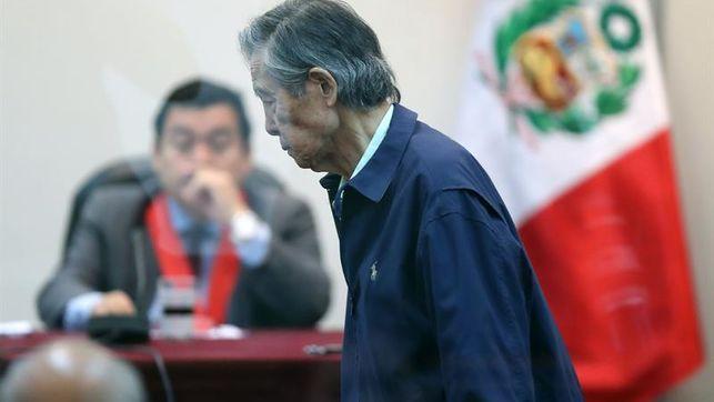 Tribunal pide evaluar salud de Fujimori, quien cumple 100 días en clínica