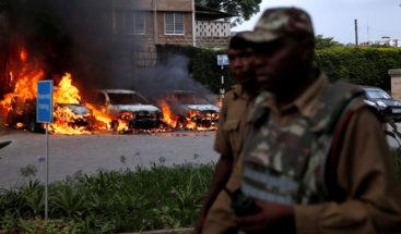Al menos un muerto y 14 heridos por el ataque a un hotel en Nairobi